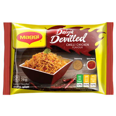 Maggi Devilled Chilli Chicken Flavour