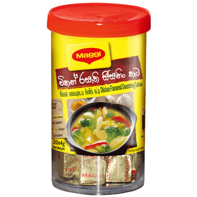 Maggi Soup Cubes -chicken flavoured seasoning cube